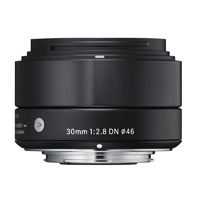 Sigma (33B963) 30mm f/2.8 Art Series DN Lens for Micro Four Thirds - Black