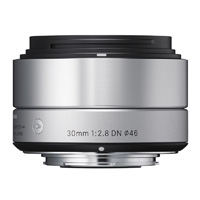 Sigma (33S963) 30mm f/2.8 Art Series DN Lens for Micro Four Thirds - Silver