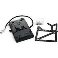 Freefly MOVI-VLOCK2 (MOVIVLOCK) Carbon Fibre V-lock Adapter Kit for the RED EPIC Camera (2 D Tap)