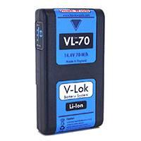 Hawk-Woods VL-70 (VL70) V-Lok Li-Ion Camera Battery 70W (14.4V)