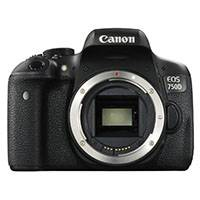 Canon EOS 750D 24.2 Megapixel APS-C Digital SLR Camera Body Only (p/n 0592C014AA)