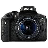 Canon EOS 750D 24.2 Megapixel APS-C Digital SLR Camera with 18-55mm IS STM Lens (p/n 0592C021AA)