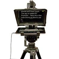 Datavideo DATA-TP300BB (DATATP300BB) TP-300 Teleprompter for Apple/Android Tablets (remote not included)