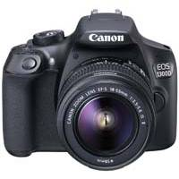 Canon EOS 1300D 18.7MP Megapixel Digital SLR Camera with Canon EF-S 18-55mm IS II Lens (Canon p/n 1160C029AA)
