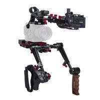 Zacuto Z-S5ZR-PDG (ZS5ZRPDG) Sony FS5/FS5 Mark II Z Finder Recoil Rig Bundle for - with Dual Trigger Grips and Z-Finder