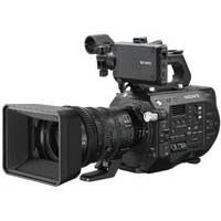 Sony PXW-FS7 Mark ii 4K Camera 35mm CMOS Sensor Camera with 18-110mm f4 Servo Zoom G OSS Lens and E-mount Lens Mount
