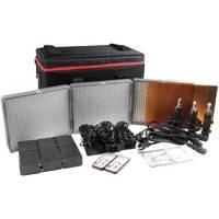 Aputure HR672KIT-SSC 3 CRI 95+ LED Light Kit with 6x NP-F970 Batteries