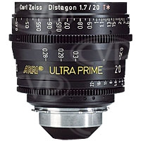 ARRI / Zeiss UltraPrime T1.9 / 20mm PL mount prime lens with IMPERIAL scale (K2.52125.0)