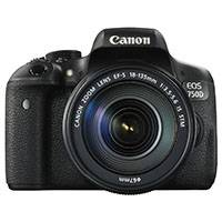 Canon EOS 750D 24.2 Megapixel APS-C Digital SLR Camera with 18-135mm IS STM Lens (Canon p/n 0592C028AA)