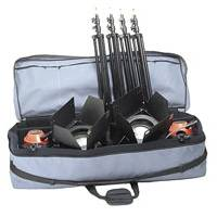 Photon Beard A432 (A4-32) 3 Head Photonbeam 1000W Soft Case Kit (UK version with 13A Plug and Lamps)
