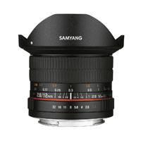 Samyang 12mm F2.8 ED AS NCS Fisheye Lens Nikon AE Mount (7467)
