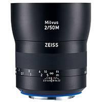 Carl Zeiss 50mm f2.0 Milvus ZE Macro 1:2 Lens - Canon EF Mount (2096-559)