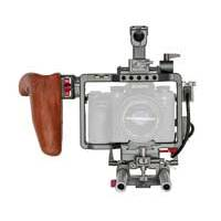 Tilta ES-T17-A Cage Kit with Wooden Handle for Sony Alpha A7 Series Cameras (EST17A)