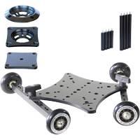 RigWheels RSK RigSkate 2 Camera Skater Dolly Complete Kit