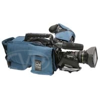 Portabrace CBA-HPX500 (HPX-500) Camera Body Armour with reversible rain / dust top for Panasonic AJ-HPX500 and AJ-HPX502 (blue)