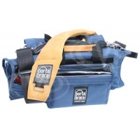 Portabrace AO-1X (AO1X) Audio Organiser Case for Shure FP24, FP32A, FP33 & Sound Devices 302, 702, 702T, 722, 744T (blue)