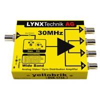 Lynx Technik DVA-1714 (DVA1714) Wide Band 1>4 Analog Video/Sync Distribution Amplifier