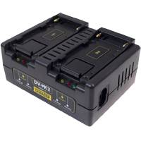 Hawk-Woods DV-MC2 (DVMC2) 2 Channel Fast Charger for Sony NP-F/DV-F series Battery