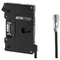 Wooden Camera Pro Gold Mount Battery Plate for Blackmagic Pocket Cinema Camera 4K (p/n 265600)