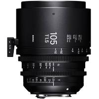 Sigma 105mm T1.5 FF High Speed Prime Cine Lens - Canon EF Mount (Available in feet and metre scale) (p/n 259966/25M966)