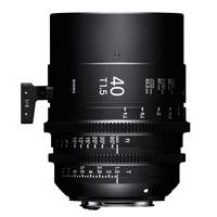 Sigma 40mm T1.5 Full Frame Cine Lens - Canon EF Mount (Available in feet and metre scale)