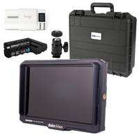 Datavideo DATA-TLM700K-KIT (DATA-TLM700K-KIT) 7 inch 4K Field Monitor with Case and Accessory Kit