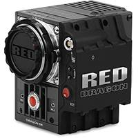 RED SCARLET DRAGON 6K 19MP Cinematography Camera with MINI-MAG SSD Side Module and Canon Ti Lens Mount (p/n 710-0171)