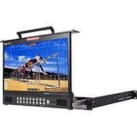 Datavideo TLM-170PM 17.3-inch HD/SD TFT LCD 1U Foldable Rackmount Monitor (p/n DATA-TLM170PM)