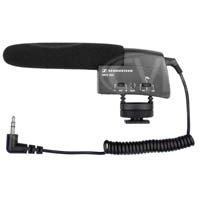 Sennheiser MKE-400 (MKE400) Small Shot Gun Microphone for cameras with a lighting shoe mount and external microphone input