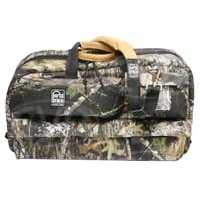 Portabrace CTC-3/MO (CTC3) Traveler case for shoulder-mount DV / DVCAM sized camcorders with standard lenses (camouflage - mossy oak shadow grass)