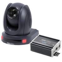 Datavideo DATA-PTC140TH (PTC-140TH) HDBaseT 1920x1080 60fps PTZ Camera with HBT-11 HDBaseT Receiver