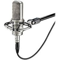 Audio Technica AT4047MP (AT-4047) Multi Pattern Condenser Microphone with AT8449SV Shock Mount
