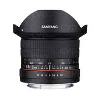Samyang 12mm f2.8 ED AS NCS Fisheye Lens - Canon M Mount (p/n 7473)