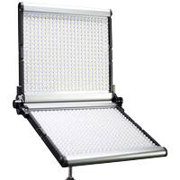 Dracast LED1000 Silver Series Bi-Colour Foldable LED Light Panel with V-Mount Battery Plate (DRSF1000B)