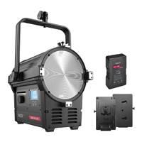 Rayzr 7 300B Bi-Colour 7 Inch LED Fresnel light - Standard with NHV-VM285 V-Mount Battery and V-Mount Battery (p/n 70000052)