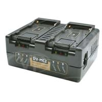Hawk-Woods DV-MC2 (DVMC2) 2Ch Fast Charger for DV-Link 970L, DV-970 and Sony NPF series of Li-Ion batteries