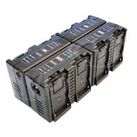 Hawk-Woods DV-MC8 (DVMC8) 8Ch Fast Charger for DV-Link 970L, DV-970 and Sony NPF series of Li-Ion batteries