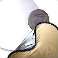 Westcott 1031 Sunlight/Silver 4-in-1 Reflector Kit - 42 inch
