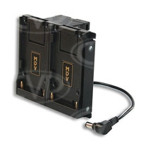 Hawk-Woods DV-EX3 (DVEX3) Sony PMW-EX3 to NP-F Camera Adaptor - Power-Con / Hirose Outputs