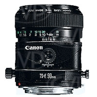 Canon TS-E 90mm F2.8 Tilt and Shift 35mm format Telephoto Lens (p/n 2544A016AA)
