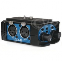Beachtek DXA-2T (DXA2T) Universal Camcorder XLR Audio Adapter - Ideal for todays compact camcorders