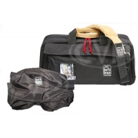 Portabrace CS-DV3RQS-M3 (CSDV3RQSM3) Mini-DV Camera Case & Quick Slick (internal dimensions: 45.72 x 17.78 x 21.59 cm) (black)