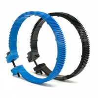 Redrock Micro 3-200-0017 (32000017) microLensGear Assembly Size D Mod .8 32 Pitch, fits lens focus rings with a circumference of 280mm-320mm (blue)