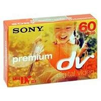 Sony DVM60PR4 Premium grade mini DV 60 min blank tape