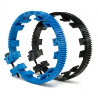 Redrock Micro 3-200-0016 (32000016) microLensGear Assembly Size C Mod .8 32 Pitch, fits lens focus rings with a circumference of 241mm-280mm (blue)