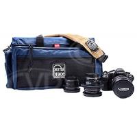 Portabrace DCO-2U (DCO2U) DSLR Camera Organiser for Canon 1D Mark IV, 5D Mark III, 7D etc (internal dimensions: 45.72 x 25.40 x 25.40 cm) (blue)