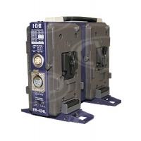 IDX EB-424L (EB424L) 4 Ch. V-Mount Power Base Station w/ 12V 4-pin XLR Output & 12V/24V LEMO Output