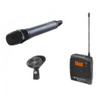 Sennheiser EW 135-P G3 (EW135PG3) Vocal System with handheld transmitter, 835 dynamic cardiod head and diversity camera receiver