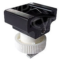 CVP AIS to cold accessory shoe adaptor suitable for Sony HC1/7 plus other Sony camcorders with a small accessory shoe