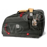Portabrace CTC-1B (CTC1B) Traveler case for compact shoulder-mount DV / DVCAM camcorders (internal dimensions: 58.42 x 19.05 x 30.48 cm) (black)